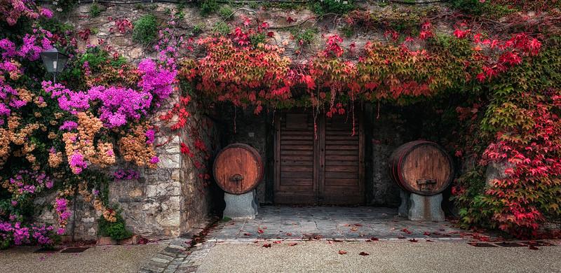 Villa Sant'Andrea in the countryside of Cortona in Tuscany, Italy