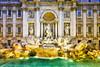 Trevi Fountain; Rome, Italy