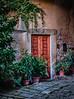 Piazzo S. Stefano near San Gimignano, Italy
