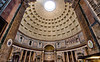 Inside the Pantheon; Rome, Italy