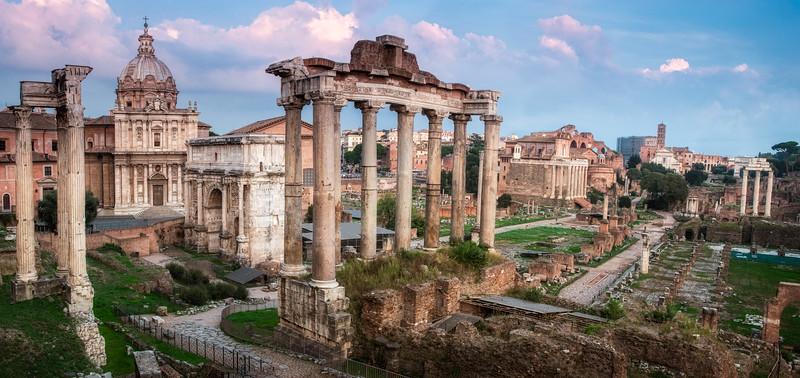 The Forum; Rome, Italy