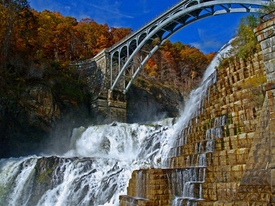 Croton Dam Falls, Croton On Hudson, NY