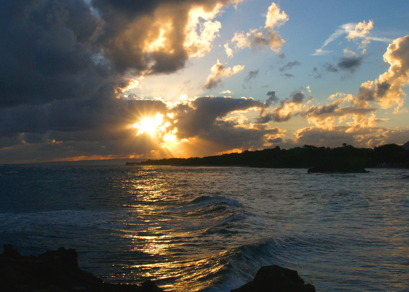 Sunrise, Dominican Republic,