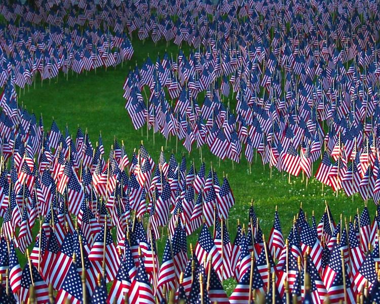 Memorial Flags, Norwalk, CT