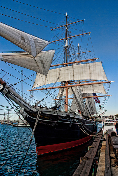Star of India Sailing Ship in San Diego