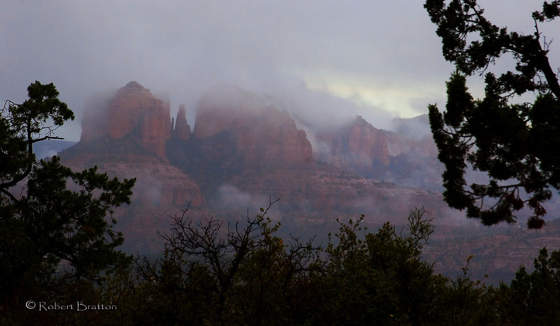 Sedona in the Clouds