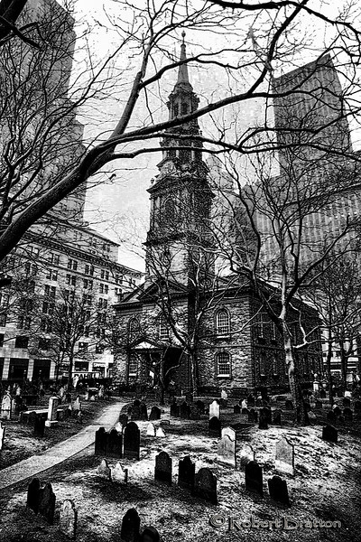 St. Paul's Chapel - New York City after 9/11