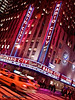 Radio City Music Hall, New York, at Night