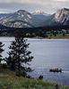 Fishing on Lake Estes, Estes Park, Colorado