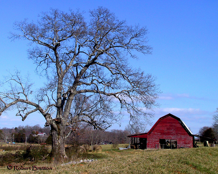 Barn in Benton, Tennessee