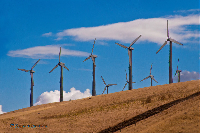Windmill Farm in California