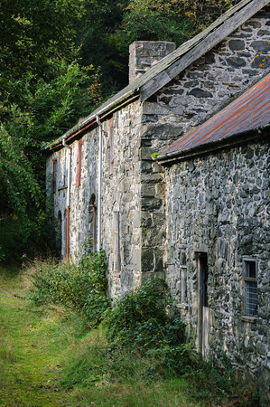 traditional Welsh farmhouse