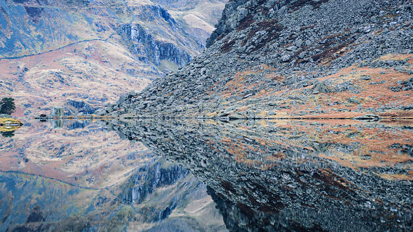 Ancient Welsh Rock Reflection