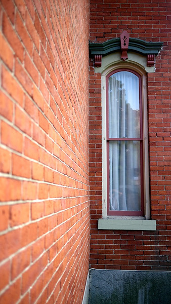 Narrow Window, Glens Falls, New York