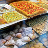 Il Fornaio, Campo di Firori, Rome / Potato Rosemary Pizza, Amaretti Cookies, Say No More