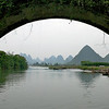 Ancient Bridge, Li River, Near Yangshuo, China