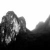 Mountains along Li River near Guilin 2