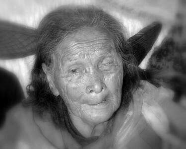 Old women outside Shanghai China  #3