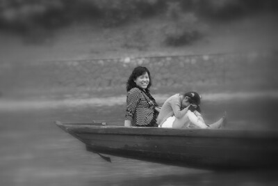 On the Li River near Guilin