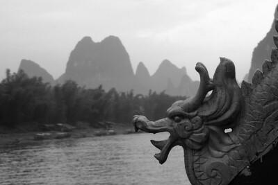 Dragon Boat, on Li River near Guilin