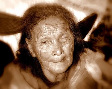 Old women outside Shanghai China  #5