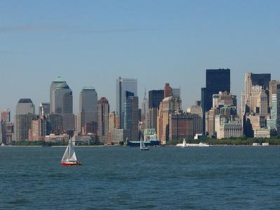 Saliboats and Skyscrapers, Hudson River NYC, NY