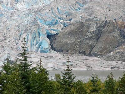 Glacial Blue, Mendenhall Galcier, Juneau AK
