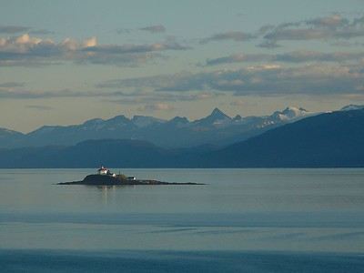 Eldred Rock Lighthouse - a lonely outpost in the Lynn Canal, AK