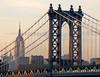 View over the Manhattan Bridge