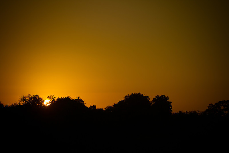 'African Sunset' - Not many better sights in the world, than watching the African sunset with a whiskey in hand.