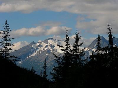 Mountain Peaks, Skagway AK