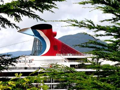 Cruiseship in Port