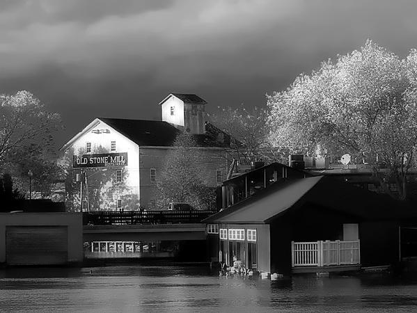 The Old Stone Mill at Skaneateles NY