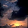 Sunrise, South Water Caye, Belize.