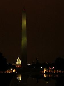 Nighttime on the Mall, Washington DC