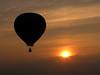 Aloft at Sunset, NJ Festival of Ballooning