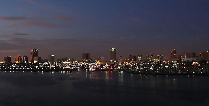 Long Beach, CA Skyline