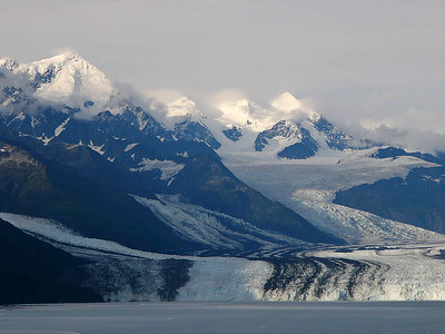Harvard Glacier at the head of College Fjord