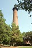 Currituck Lighthouse on the Outer Banks in Corallo, NC.