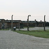 Barracks for the prisoners of Birkenau.