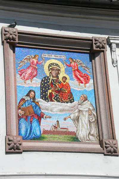 Portrait of the Black Madonna at the The Monastery of Jasna Góra