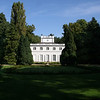The Little White House (Biały Domek) is a garden villa built in 1774-76 by Domenico Merlini. It housed King Stanisław August Poniatowski's mistress and, for a time, Louis XVIII, who lived here in 1801-05 during his exile from France.