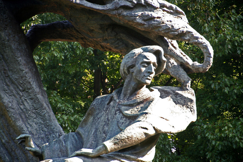 Monument to F. Chopin