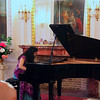 we went to a piano recital of the works of Chopin, Poland's greatest composer, performed by Maria Skurjat-Silva at the Raczynski Palace.