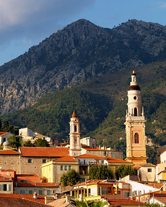 Old Town Center, Menton, France