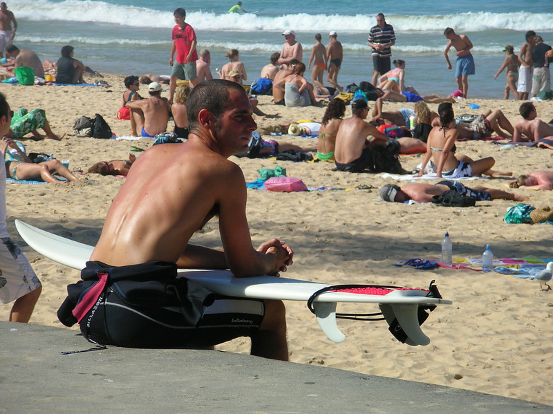 Surfer, Manly Beach, Australia