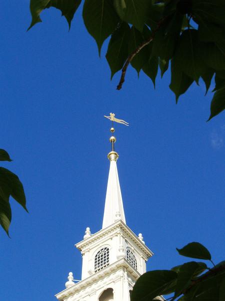 Church Steeple, Newport, Rhode Island