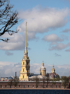 Peter and Paul Fortress, St. Petersburg, Russia.
