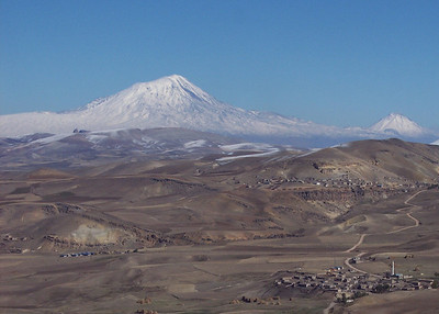 Mt Ararat, Armenia (view from Turkey)