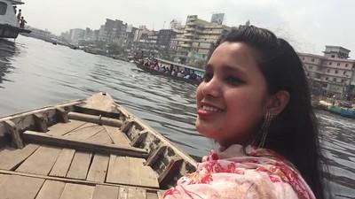 2017 Bangladesh, Dhaka  Buriganga River Boat Ride.